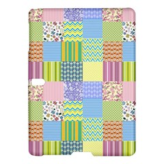 Old Quilt Samsung Galaxy Tab S (10 5 ) Hardshell Case  by Valentinaart
