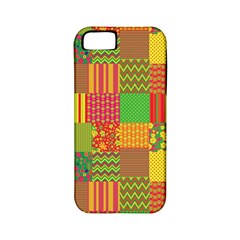 Old Quilt Apple Iphone 5 Classic Hardshell Case (pc+silicone) by Valentinaart
