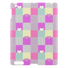 Old Quilt Apple Ipad 3/4 Hardshell Case by Valentinaart