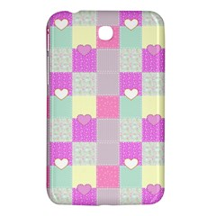 Old Quilt Samsung Galaxy Tab 3 (7 ) P3200 Hardshell Case  by Valentinaart