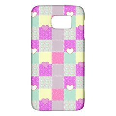 Old Quilt Galaxy S6 by Valentinaart