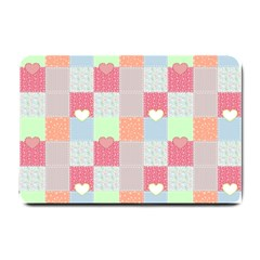 Patchwork Small Doormat  by Valentinaart
