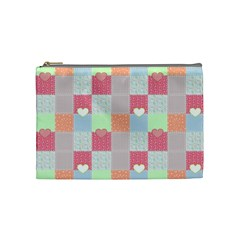 Patchwork Cosmetic Bag (medium)  by Valentinaart