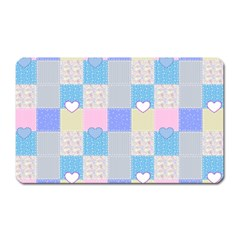 Patchwork Magnet (rectangular) by Valentinaart