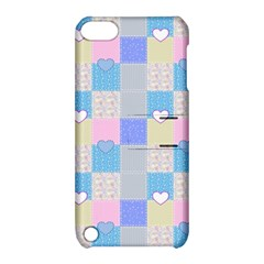 Patchwork Apple Ipod Touch 5 Hardshell Case With Stand by Valentinaart
