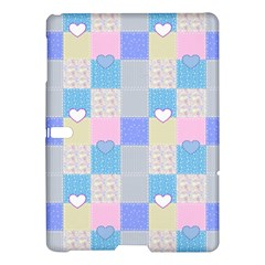 Patchwork Samsung Galaxy Tab S (10 5 ) Hardshell Case  by Valentinaart