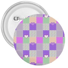 Patchwork 3  Buttons by Valentinaart