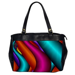 Fractal Wallpaper Color Pipes Office Handbags by Amaryn4rt