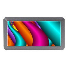 Fractal Wallpaper Color Pipes Memory Card Reader (mini) by Amaryn4rt