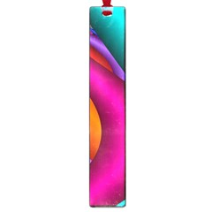 Fractal Wallpaper Color Pipes Large Book Marks by Amaryn4rt