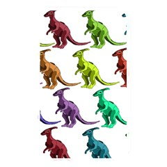 Multicolor Dinosaur Background Memory Card Reader by Amaryn4rt