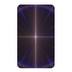 Color Fractal Symmetric Blue Circle Memory Card Reader by Amaryn4rt
