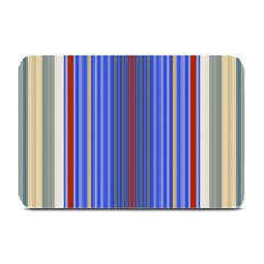 Colorful Stripes Background Plate Mats by Amaryn4rt