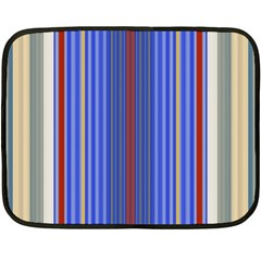 Colorful Stripes Background Fleece Blanket (mini) by Amaryn4rt