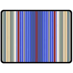 Colorful Stripes Background Fleece Blanket (large)  by Amaryn4rt