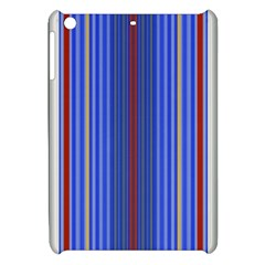 Colorful Stripes Background Apple Ipad Mini Hardshell Case by Amaryn4rt