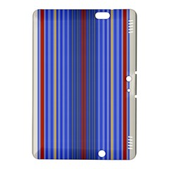 Colorful Stripes Background Kindle Fire Hdx 8 9  Hardshell Case by Amaryn4rt