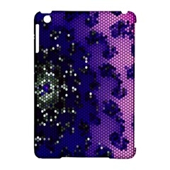 Blue Digital Fractal Apple Ipad Mini Hardshell Case (compatible With Smart Cover) by Amaryn4rt