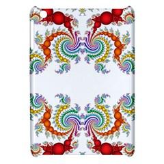 Fractal Kaleidoscope Of A Dragon Head Apple Ipad Mini Hardshell Case by Amaryn4rt