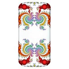 Fractal Kaleidoscope Of A Dragon Head Samsung Galaxy S3 S Iii Classic Hardshell Back Case by Amaryn4rt