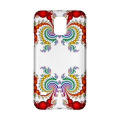 Fractal Kaleidoscope Of A Dragon Head Samsung Galaxy S5 Hardshell Case  by Amaryn4rt