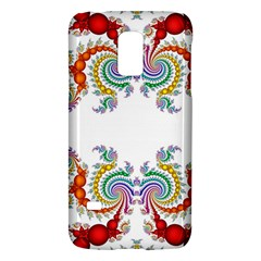Fractal Kaleidoscope Of A Dragon Head Galaxy S5 Mini by Amaryn4rt