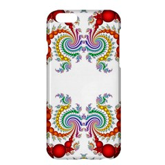 Fractal Kaleidoscope Of A Dragon Head Apple Iphone 6 Plus/6s Plus Hardshell Case by Amaryn4rt