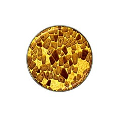 Yellow Cast Background Hat Clip Ball Marker (10 Pack) by Amaryn4rt