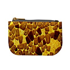 Yellow Cast Background Mini Coin Purses