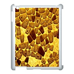 Yellow Cast Background Apple Ipad 3/4 Case (white)