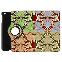 Multicolor Fractal Background Apple Ipad Mini Flip 360 Case by Amaryn4rt