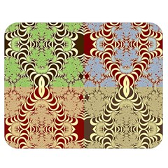 Multicolor Fractal Background Double Sided Flano Blanket (medium)  by Amaryn4rt