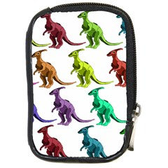 Multicolor Dinosaur Background Compact Camera Cases by Amaryn4rt