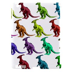 Multicolor Dinosaur Background Apple Ipad 3/4 Hardshell Case (compatible With Smart Cover) by Amaryn4rt