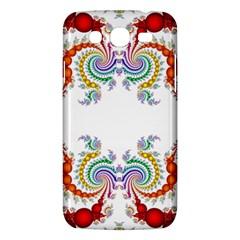 Fractal Kaleidoscope Of A Dragon Head Samsung Galaxy Mega 5 8 I9152 Hardshell Case  by Amaryn4rt