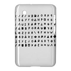 Zodiac Killer  Samsung Galaxy Tab 2 (7 ) P3100 Hardshell Case  by Valentinaart