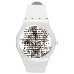Zodiac Killer  Round Plastic Sport Watch (m) by Valentinaart
