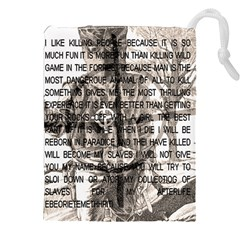 Zodiac Killer  Drawstring Pouches (xxl) by Valentinaart