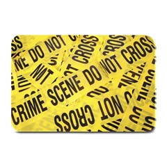 Crime scene Plate Mats