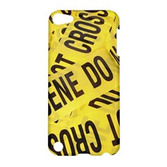 Crime Scene Apple Ipod Touch 5 Hardshell Case by Valentinaart
