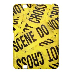 Crime Scene Kindle Fire Hd 8 9  by Valentinaart