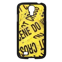 Crime Scene Samsung Galaxy S4 I9500/ I9505 Case (black) by Valentinaart