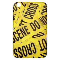 Crime Scene Samsung Galaxy Tab 3 (8 ) T3100 Hardshell Case  by Valentinaart