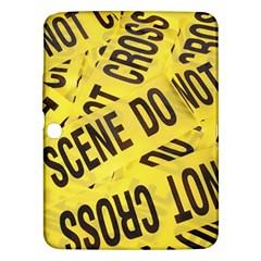 Crime Scene Samsung Galaxy Tab 3 (10 1 ) P5200 Hardshell Case  by Valentinaart