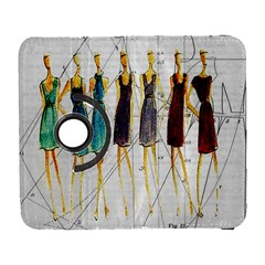 Fashion Sketch  Galaxy S3 (flip/folio) by Valentinaart