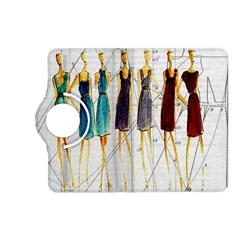 Fashion Sketch  Kindle Fire Hd (2013) Flip 360 Case by Valentinaart