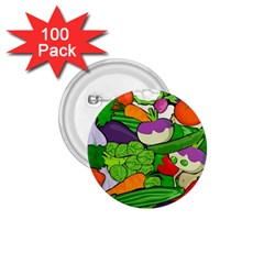 Vegetables  1 75  Buttons (100 Pack)  by Valentinaart