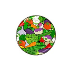 Vegetables  Hat Clip Ball Marker (4 Pack) by Valentinaart