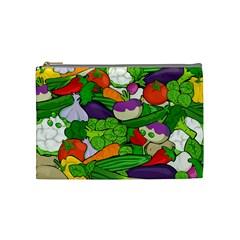 Vegetables  Cosmetic Bag (medium)  by Valentinaart