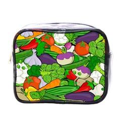 Vegetables  Mini Toiletries Bags by Valentinaart